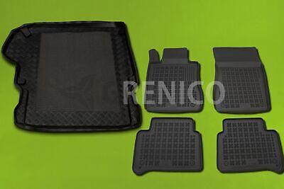 Gummi-Fußmatten+Kofferraumwanne MERCEDES W211 E-KLASSE T-MODELL Kombi kurz 03-09