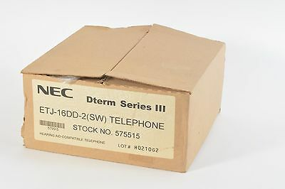 New Nec Etj-16dd-2sw Telephone
