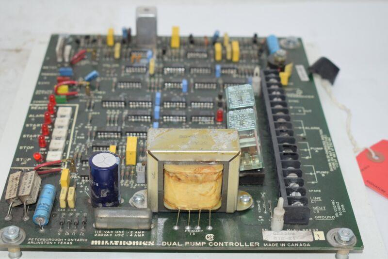 Milltronics 022389 012-21 Dual Pump Controller PCB Board Module