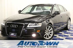 2010 Audi A6 S-Line AWD/HTD SEATS/LEATHER