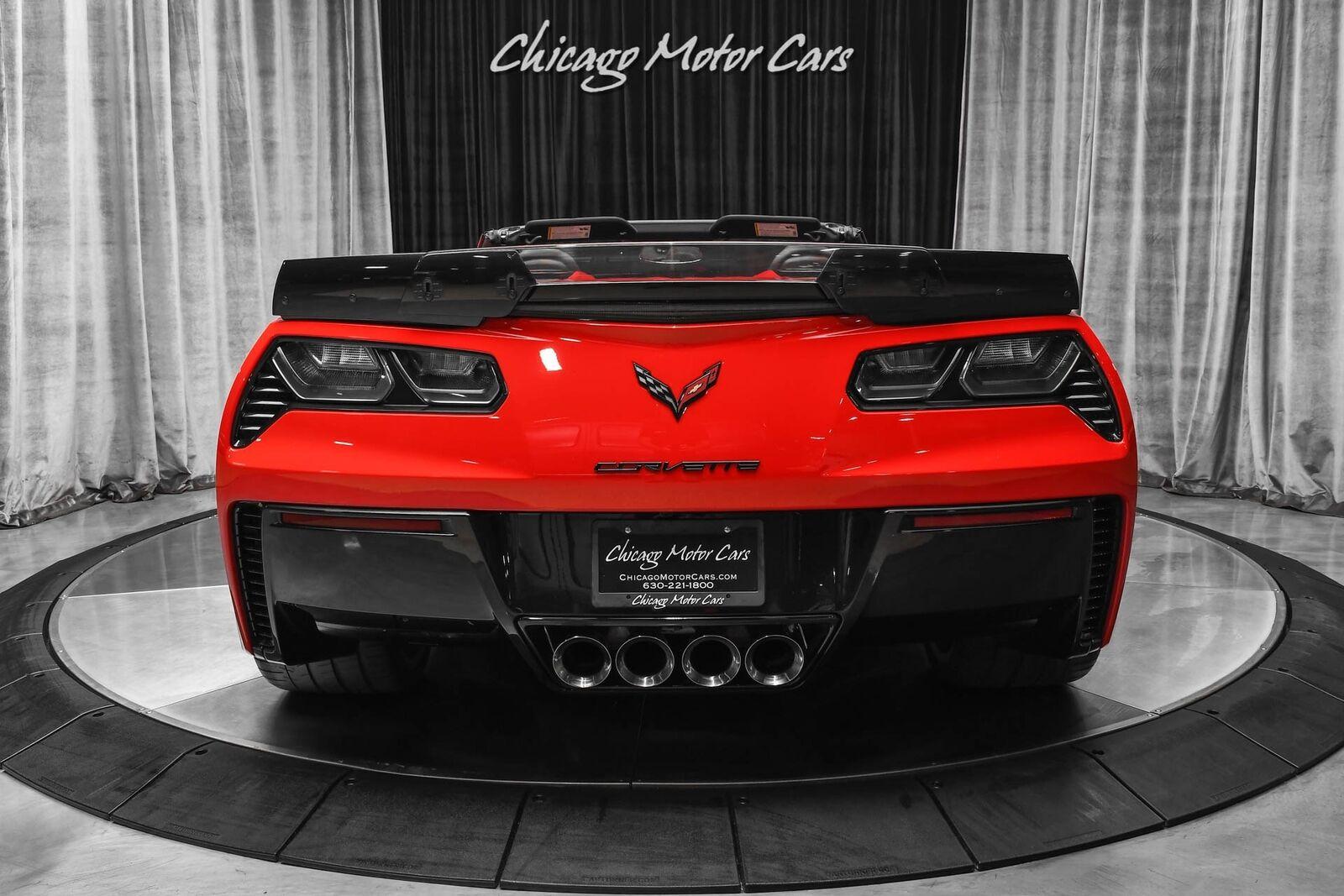 2015 Red Chevrolet Corvette Z06 2LZ | C7 Corvette Photo 4