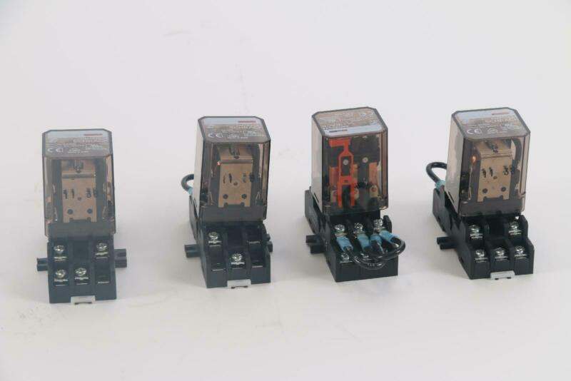 Schrack RM702024 24VDC Power Relay Lot of 4