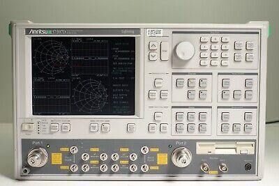 Anritsu 37397d Vector Network Analyzer - 40 Mhz To 65 Ghz Opt 2a 15
