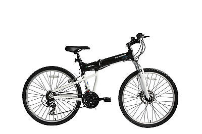 """ecosmo 26"""" Rueda Ligero Aleación plegable Bicicleta MTB 17.5"""" - 26af18bl"""