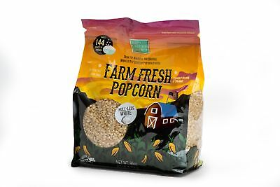 White Gourmet Popping Corn - Wabash Valley Farms 46401  Gourmet Popping Corn- Baby White 6 lb