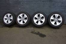 """BMW 3-Series  WHEELS AND ROADWORTHY TYRES 16"""" South Melbourne Port Phillip Preview"""