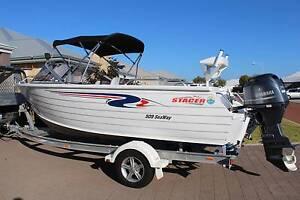 Stacer (Quintrex) 5.09 Runabout - Suit new boat buyer! Mandurah Mandurah Area Preview
