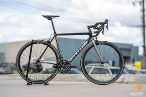 Cannondale Supersix EVO 54cm silver black carbon road bike
