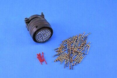 Amphenol Industrial Circular Mil Spec Connector 61p Ms3126f24-61s