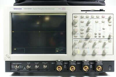Tektronix Tds7404b Digital Phosphor Oscilloscope - 4 Ghz 20 Gss 4ch Opt Usb