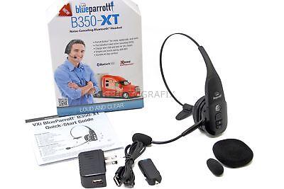 NEW VXi Blue Parrot B350XT Noise Cancelling Trucker Bluetooth Cell Phone Headset