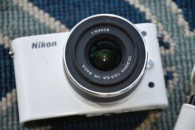 Nikon 1 J1 10.1MP 1080P Mirrorless Camera W/ 10-30mm Lens Free Shipping