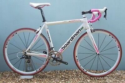 "BOARDMAN Fi 'Team' ""Custom Built"" Ladies / Women's Carbon Road Bike: 54` Medium"