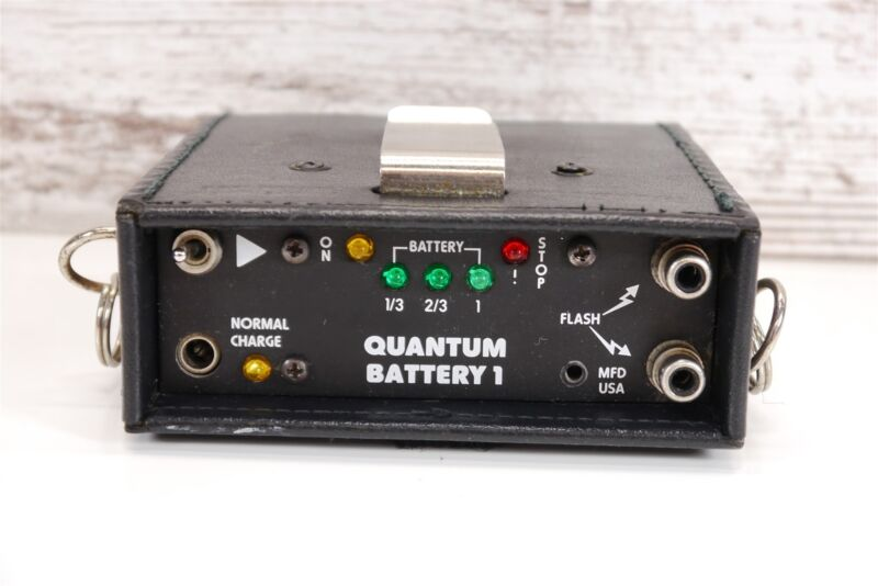 Quantum Battery One [QB1] 6-Volt Battery Pack ~Tested / Bad Cells / Needs Repair