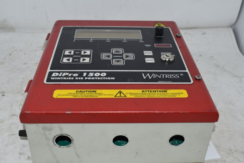 WINTRISS CONTROLS 9642403 DIPRO-1500 DIE PROTECTION CONTROLLERS