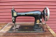 Old Unrestored Singer Sewing Machine in Cabinet Warwick Southern Downs Preview