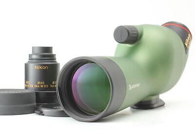 NEAR MINT Nikon FIELDSCOPE ED50 Olive Green Water Proof From JAPAN