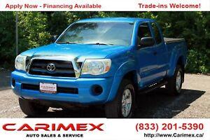 2007 Toyota Tacoma V6 | 4x4 | ONLY 92K | CERTIFIED