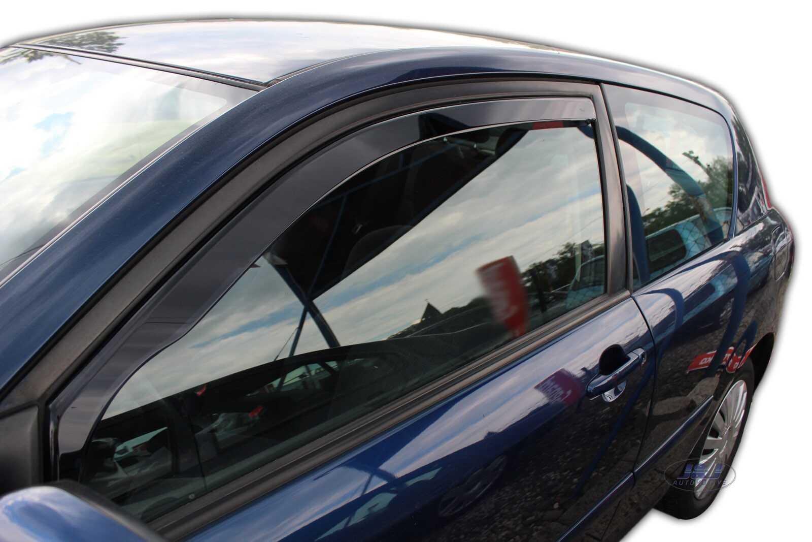 4 Piezas 5 puertas Para Toyota Corolla 2002-2007 Saloon viento desviadores Set