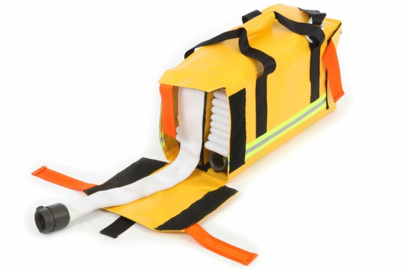 Medium Forestry Fire Hose Pack with 200 ft Capacity