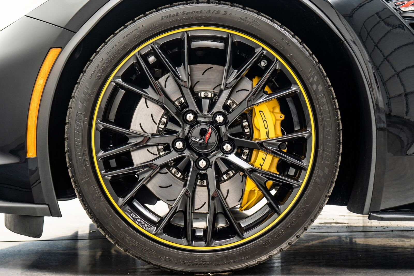 2018 Black Chevrolet Corvette Z06 3LZ   C7 Corvette Photo 9
