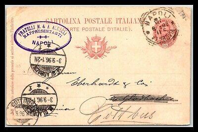 GP GOLDPATH: ITALY POSTAL CARD 1896 _CV688_P19