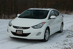 2012 Hyundai Elantra GLS ONLY 88K | Sunroof | Bluetooth | Hea...