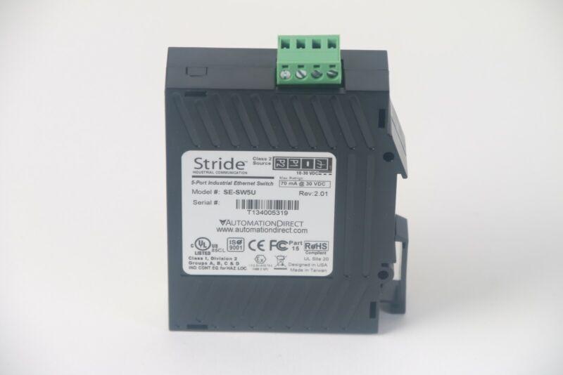 AutomationDirect Stride SE-SW5U Rev 2.01 5-Port Industrial Ethernet Switch