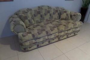 LOUNGE SET 3 SEATER + 2 X 1 SEATER Blair Athol Campbelltown Area Preview