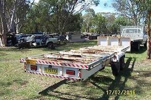 trailer heavy duty ,  19 foot 6 inches  x 6 foot =  5-95 x 183 Londonderry Penrith Area Preview