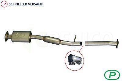 Mittelschalldämpfer passend für Subaru Forester 2.0 2000-2008 Mitteltopf Auspuff