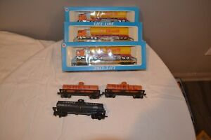 HO Trains, track and accessories