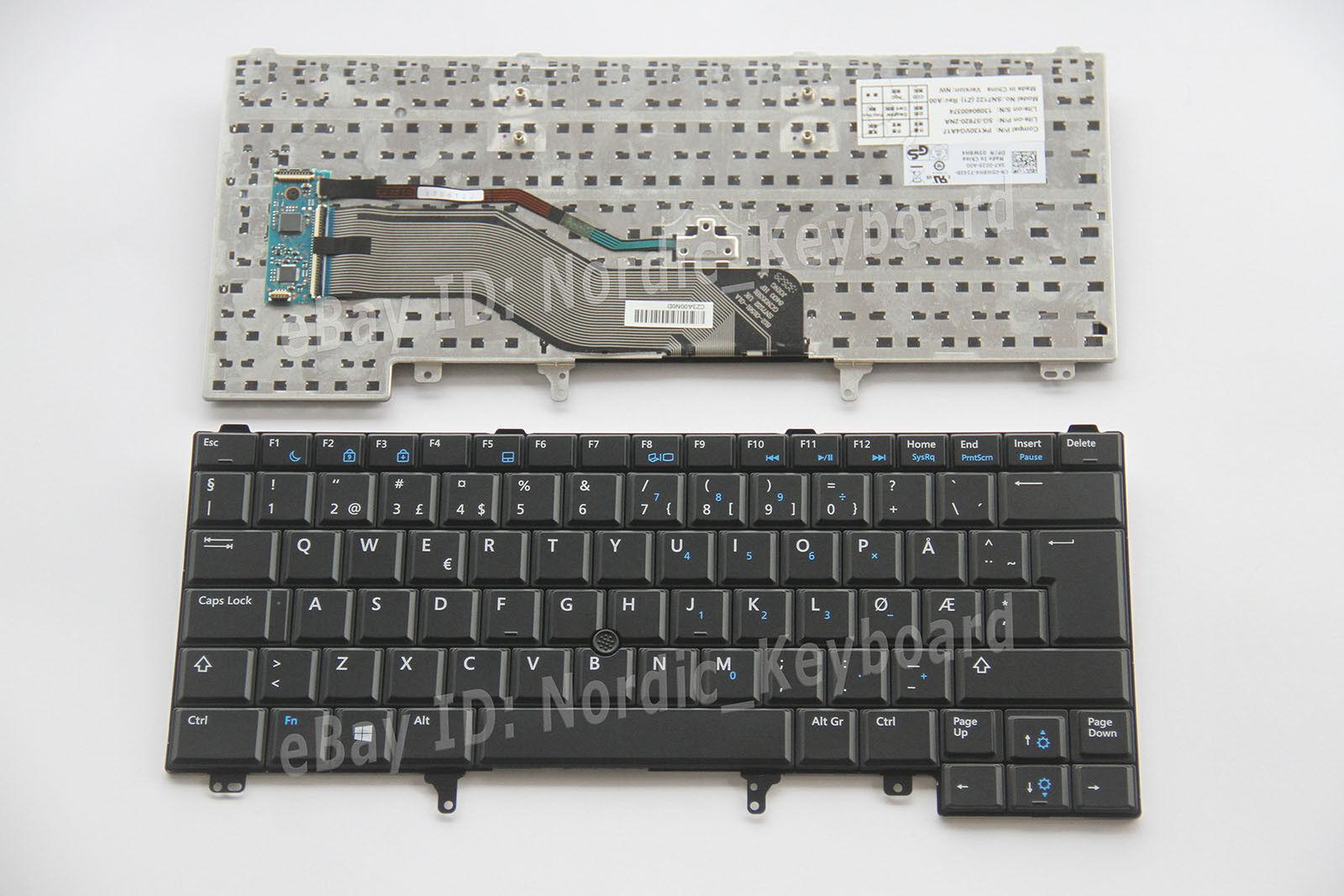 For Lenovo ThinkPad Edge 14 Edge 15 E40 E50 Keyboard Danish Norwegian Norsk DK