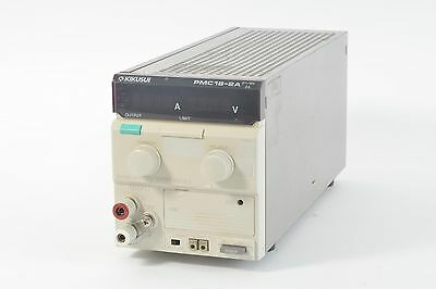 Kikusui Pmc18-2a 0-18v 2a Variable Dc Power Supply