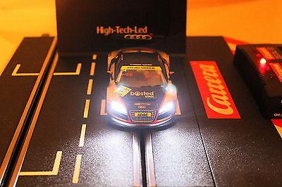 LED Digital Beleuchtung xenon/rot für Carrera mit Stecker ohne Löten *Tuning*