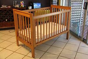 VGC Boori King Parrot baby cot plus mattress(2 sets available) Parramatta Parramatta Area Preview