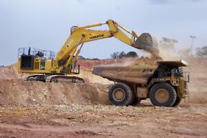 Dump site for fill available