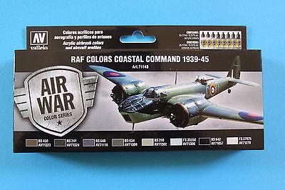 Vallejo Airbrush Model Air Set RAF Coastal Command - 1939-1945  (8)
