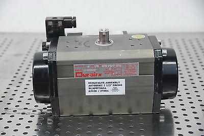Durair Ii 075 F57 Q14 Duravalve As7006mc 1 12 Dm340 Pneumatic Actuator Valve