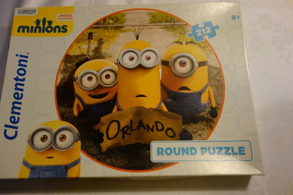 Minions - Puzzle in Saarland - Mettlach