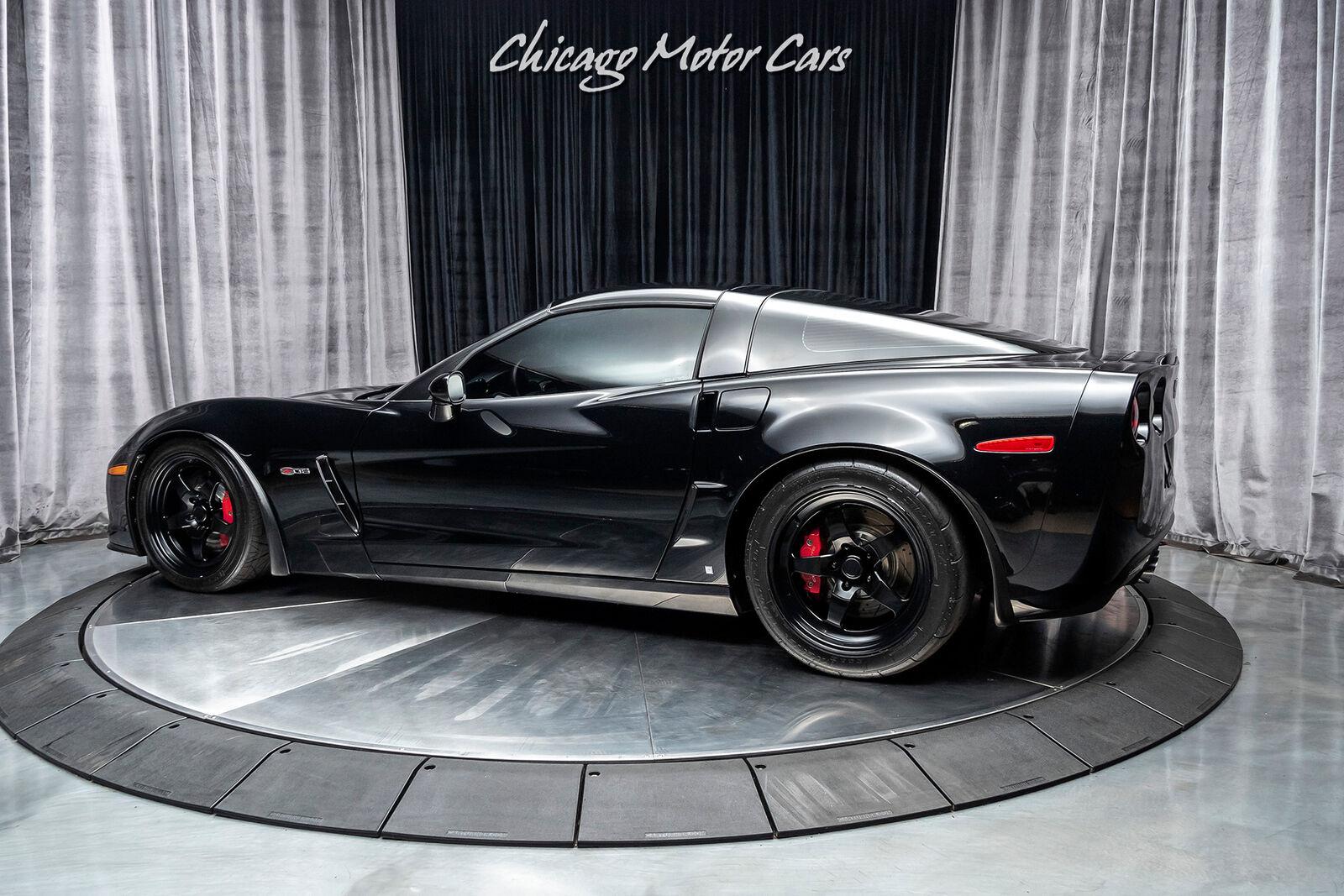 2008 Black Chevrolet Corvette Z06 3LZ | C6 Corvette Photo 3