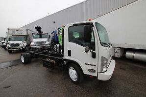 2014 Isuzu NRR 18 TO 20 FT CHASSIS