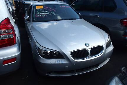 Wrecking BMW E60 530i Parts Engine ECU Trans Diff Strut Door Mag Revesby Bankstown Area Preview