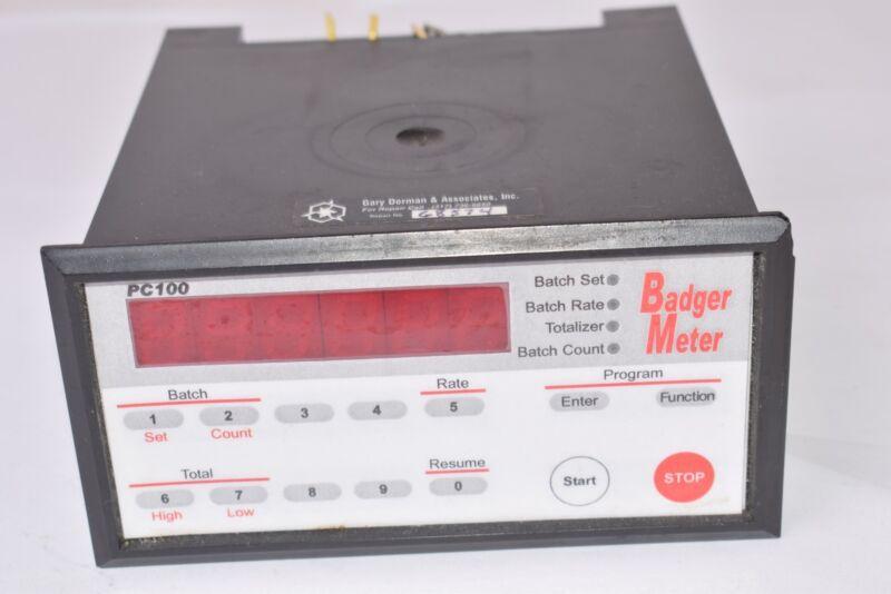 Badger Meter, P/N: PC100 Process Controller