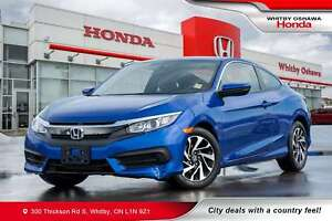 2017 Honda Civic LX | Heated Seats, Rearview Camera, Bluetooth,