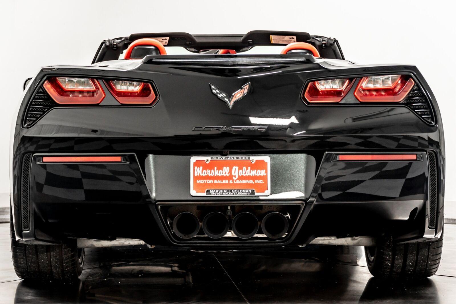 2014 Black Chevrolet Corvette Convertible 2LT   C7 Corvette Photo 7