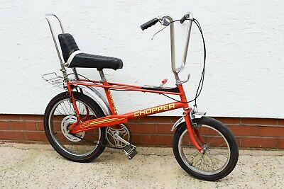 1976 RALEIGH CHOPPER MK2 INFRA RED VINTAGE BICYCLE, TOTALLY ORIGINAL UNRESTORED