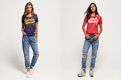 Superdry Womens Clarrie Reversible T-Shirt