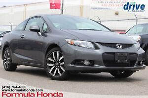 2013 Honda Civic EX-L Navi Navigation|Leather Upholstery|Rear...