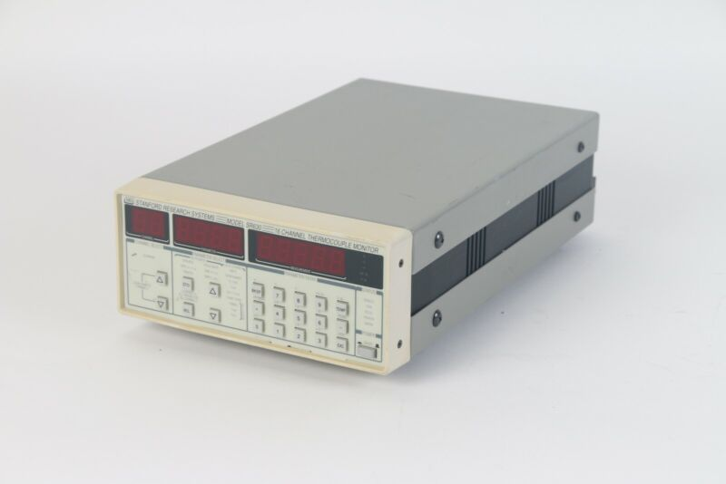 SRS SR630 16-Channel Thermocouple Monitor/Logger- Missing Foot